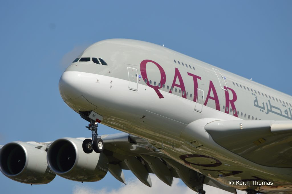 Qatar Airlines A380 Airbus