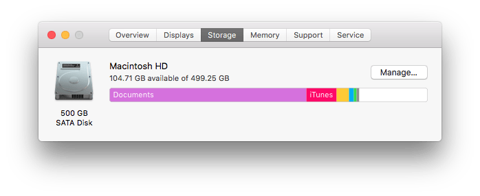 Manage Apple Storage
