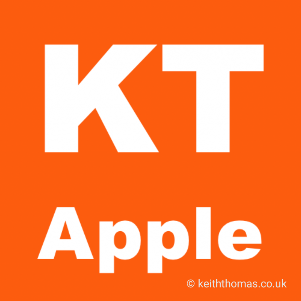 Keith Thomas Apple Support Specialist Logo